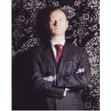 GATISS Mark Sherlock Signed Photo 386H UACC COA