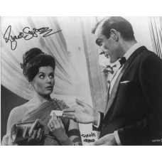 GAYSON Eunice Dr No James Bond Signed Photo UACC COA