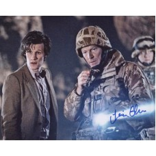 GLEN Iain Dr Who Signed Photo 332H UACC