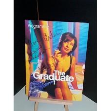 The GRADUATE Cast Signed Programme x4 UACC COA
