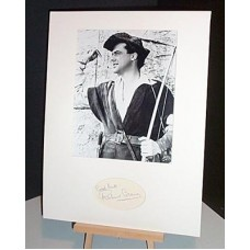 GREENE Richard Robin Hood Autographed Display UACC COA