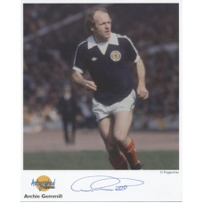 GEMMELL Archie Autographed Editions, Signed Photo UACC COA