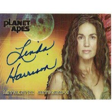 HARRISON Linda Planet of the Apes Autographed Trading Card UACC
