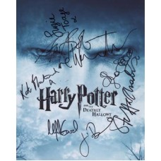 HARRY POTTER Cast In Person Signed Photo x7 301H UACC COA