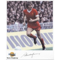 HEIGHWAY Steve Liverpool Autographed Editions Signed Photo UACC COA