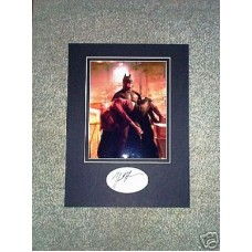 HOLMES Katie Batman Signed Display UACC COA