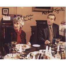 JAYSTON Michael LYNN Ann Only Fools and Horses Signed Photo 602G UACC