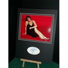 JONES Suranne Signed Display UACC COA