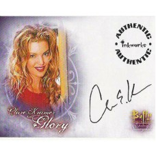 KRAMER Clare Buffy Signed Trading Card UACC COA