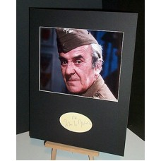 Le MESURIER John Dads Army Autographed Display UACC