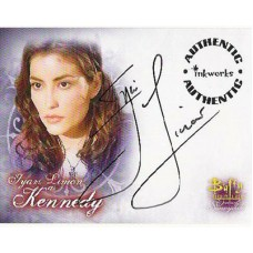 LIMON Iyari Buffy Signed Trading Card UACC COA