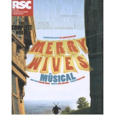 MERRY WIVES The Musical Programme Cast Signed x34 UACC COA