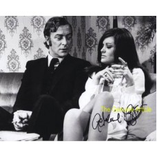 MOFFATT Geraldine GET CARTER Rare Signed Photo 685H UACC COA
