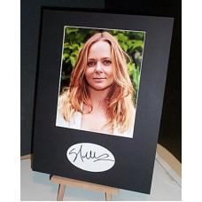McCARTNEY Stella Fashion Designer Signed Display UACC COA
