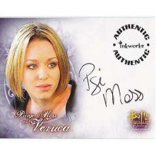 MOSS Paige Signed Buffy Trading Card