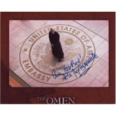 POSTLETWAITE Pete 887F The Omen In Person Autograph UACC COA
