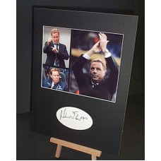 REDKNAPP Harry (1) Mounted Autograph