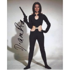 RIGG Diana The Avengers Signed Photo 196H UACC COA