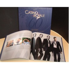 CASINO ROYALE Royal World Premiere Brochure Daniel Craig