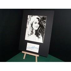 RAMPLING Charlotte Autographed Display UACC COA