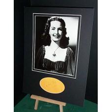 ROC Patricia Autographed Display UACC COA