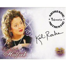ROCHA Kali Buffy Signed Trading Card UACC COA