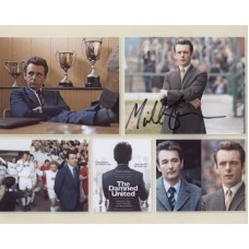 SHEEN Michael The Damned United Montage 468G Signed Photo UACC
