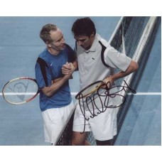 STICH Michael Tennis In Person Autographed Photo 617G UACC COA