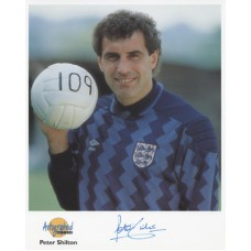 SHILTON Peter England Autographed Editions Signed Photo UACC COA