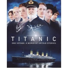 TITANIC Cast Signed Photo x2 330H UACC COA