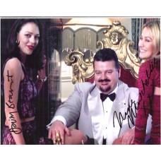 Beaumont Daisy Muschallik Nina James Bond Signed Photo 630D UACC COA