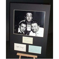 The GOONS Sellers Milligan Secombe Autographed Display UACC