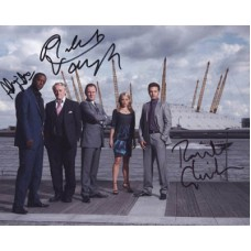 HUSTLE Cast Signed x3 Photo 351H UACC COA