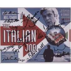 The ITALIAN JOB Cast Signed x13 In-Person Autographs 326G UACC