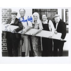 The PLANK Cast Signed Photo x2 Eric Sykes 426A UACC COA