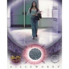 TRACHTENERG Michelle Buffy Costume Card UACC COA