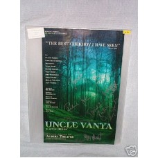UNCLE VANYA Cast Signed In Person Theatre Poster UACC COA