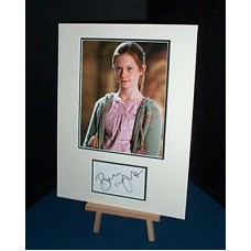 WRIGHT Bonnie Harry Potter Signed Display UACC