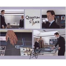 WRIGHT Rufus Quantum of Solace In Person Autograph 511G UACC